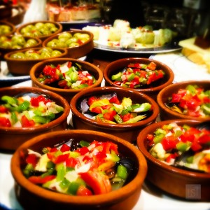 Tapas dishes in Girona