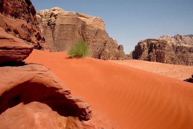 Wadi Rum, in Jordan