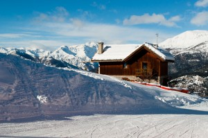 Nice setting for first ski lesson