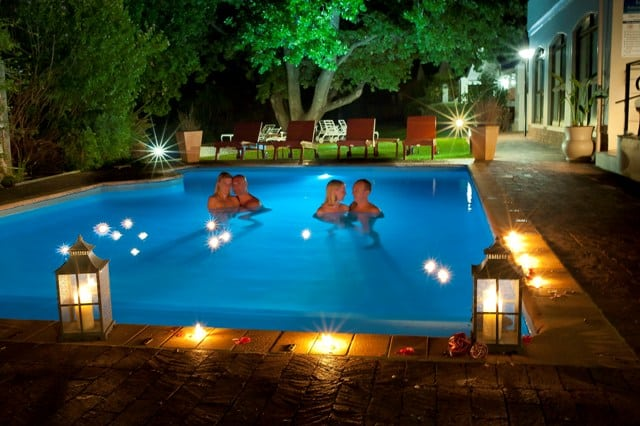 Vasnat Naturist Spa Resort, swimming pool