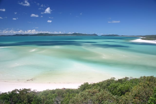 Whitehaven in the Whitsunday Islands - one of the destinations for 4xfour in Australia