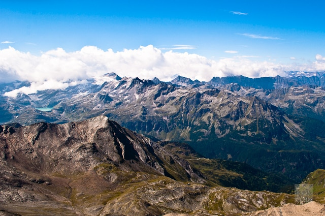 Mountain views in and around Zell am See