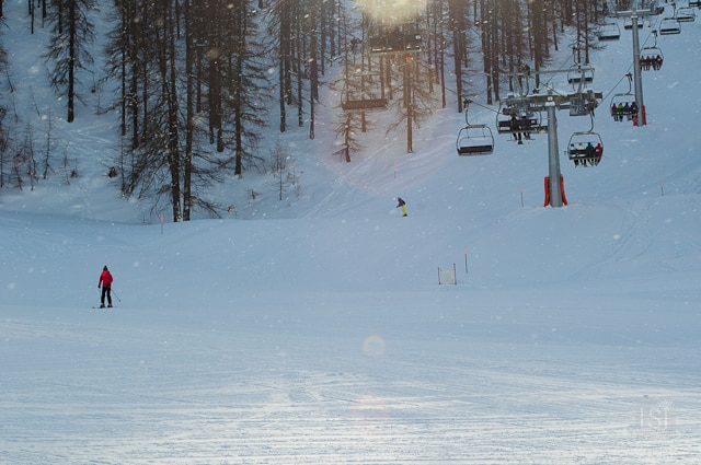 Skiing in Sauze d'Oulx