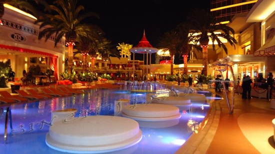 Encore Beach Club Las Vegas pool party