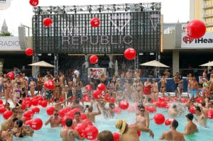 Las Vegas pool party season kicks off soon. This from iHeartRadio at Wet+Republic