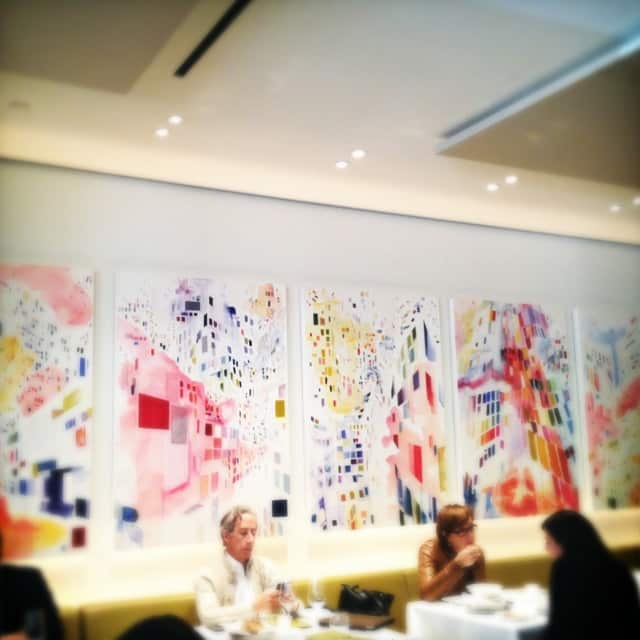 Lunchtime at Toronto restaurant, Nota Bene