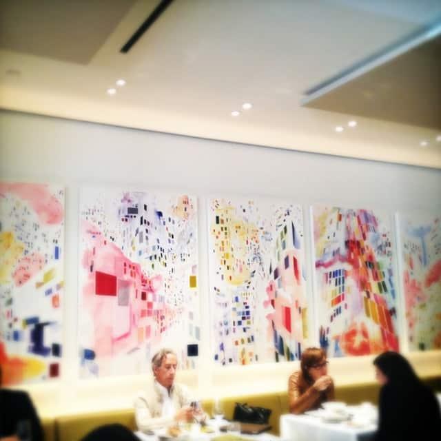 Lunchtime at Toronto restaurant, Nota Bene
