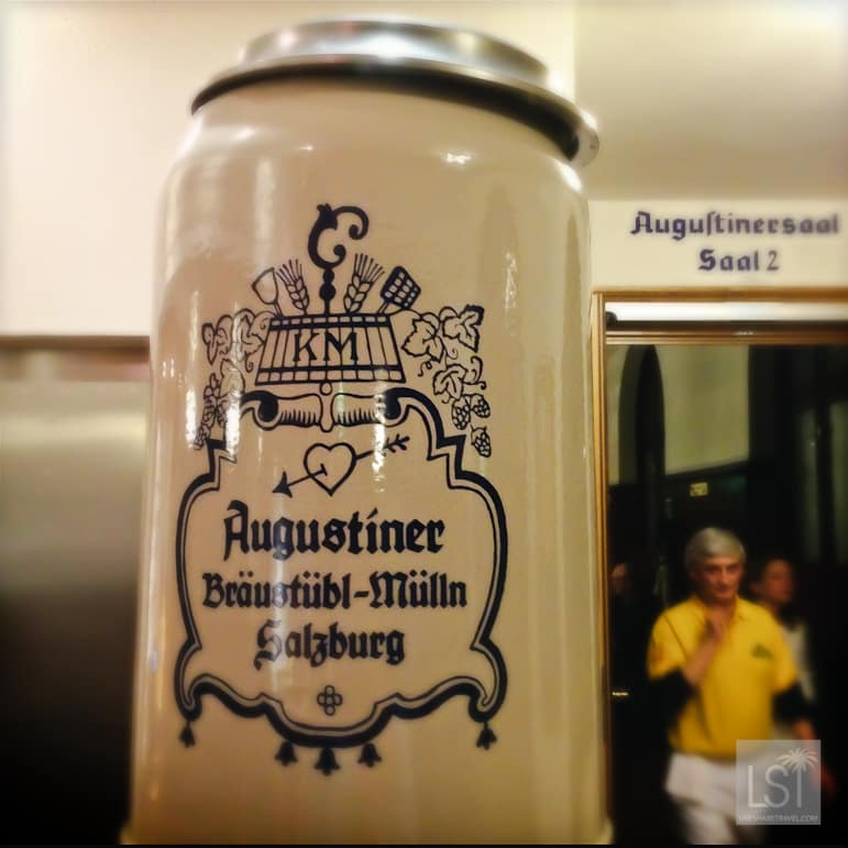 Augustiner is one of the oldest breweries in Salzburg