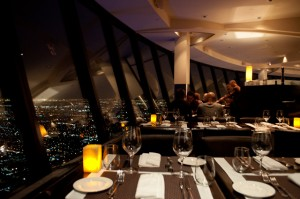360 restaurant - perhaps the best views of any Toronto restuarant