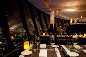360 restaurant - perhaps the best views of any Toronto restuarant