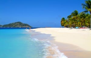 A beach for liming