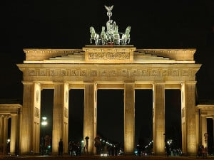 Brandenburg Gate in Berlin, pic jdn, Flickr