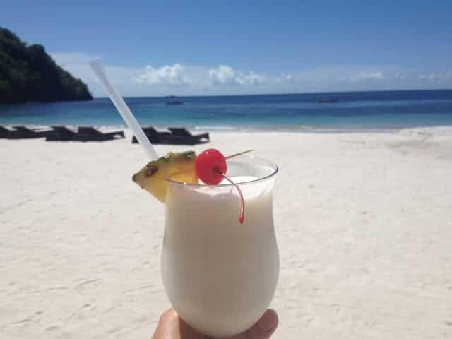 Cocktails on St Vincent & the Grenadines