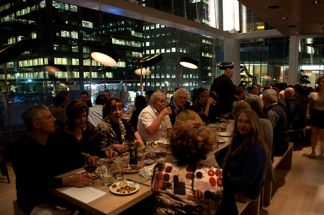 Communal dining is the thing at Momofuku