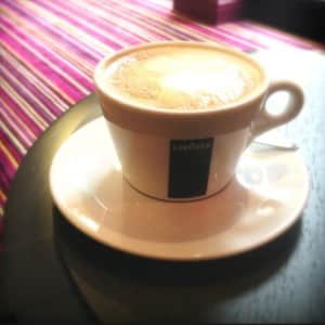 Lavazza coffee at Safestay London