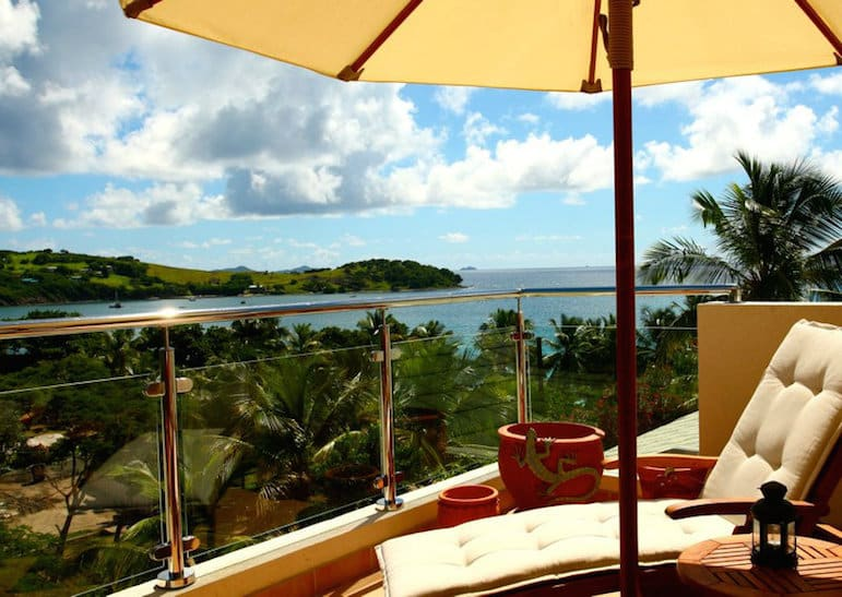 Liming at Bequia Beach Hotel