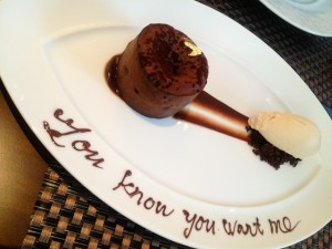 Tempting desserts at Cafe Boulud