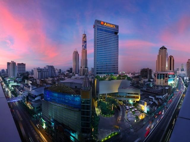 Amari Watergate Bangkok_Exterior