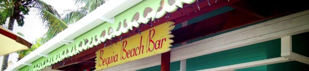 Bequia Beach Bar - a gorgeous hangout