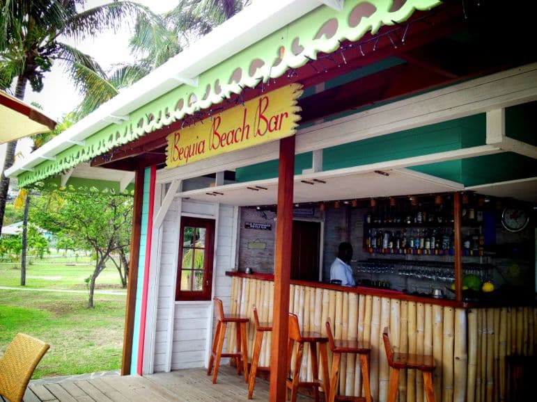 Bequia Beach Bar - a gorgeous hangout