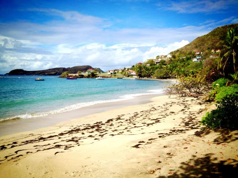 Friendship Beach, Bequia in St Vincent and The Grenadines