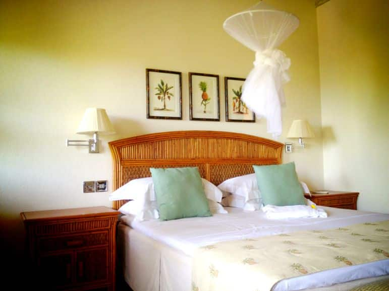 My classic room at Bequia Beach Hotel
