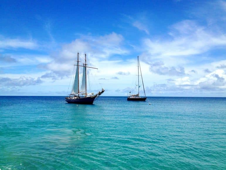 Mayreau - a great stop for snorkelers