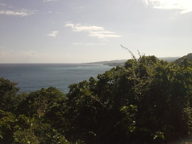 A view from the Skyline tour while staying Sandals Grande Riviera