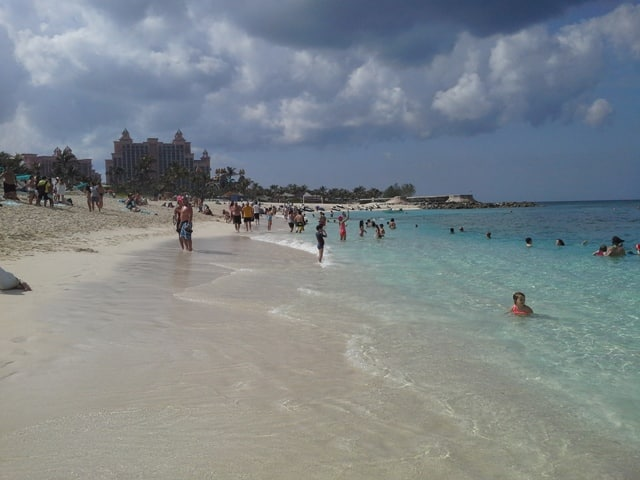 Beach at the Atlantis Resort Bahamas