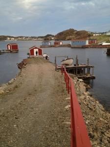 Boat yard, Twillingate