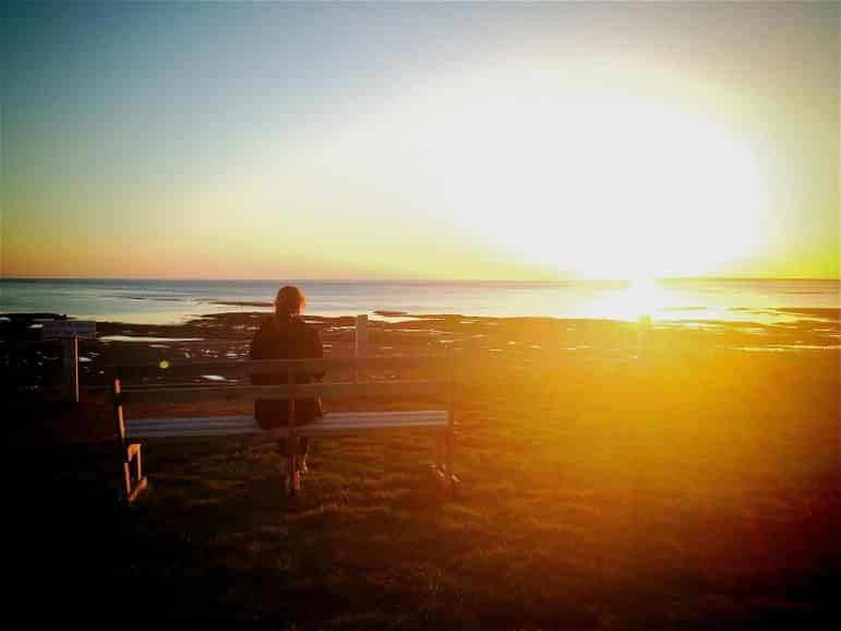 Finding solitude in Atlantic Canada, sunset at Prince Edward Island