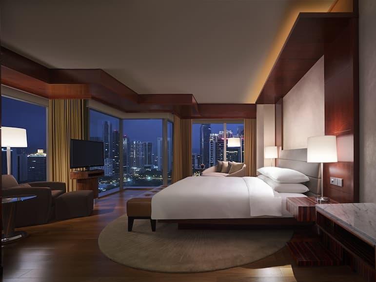 Grand Deluxe King room at Grand Hyatt Kuala Lumpur