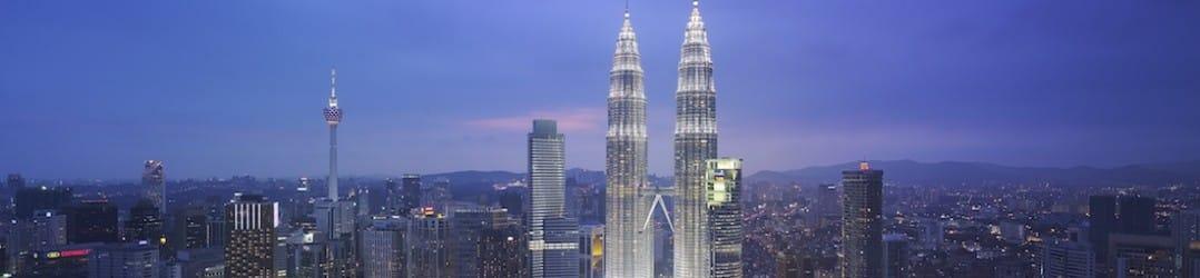 Grand Hyatt Kuala Lumpur - Skyline with Petronas Twin Towers