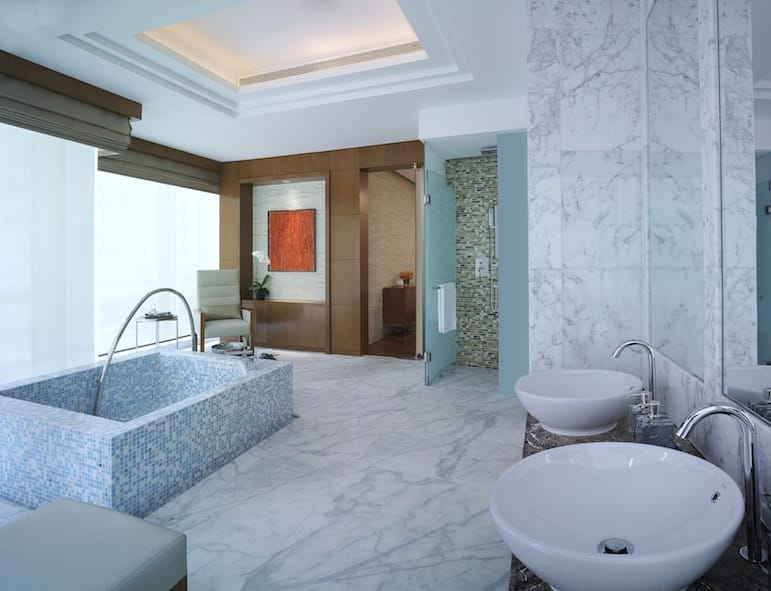 Grand Hyatt Kuala Lumpur spa double treatment room