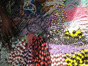 Jewelery on sale at Serrakunda market