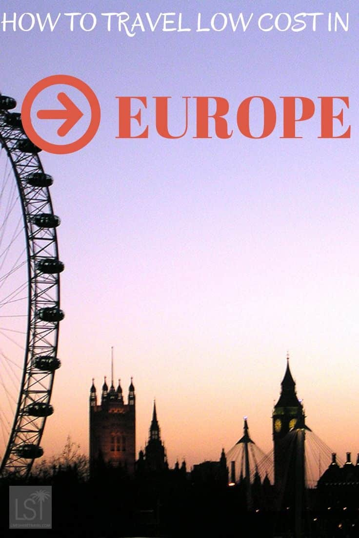 How to travel on European low cost airlines