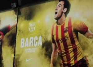 Confessions of a football virgin - F.C Barcelona Nou Camp Tour