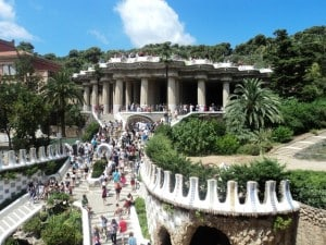 10 best Barcelona attractions - Park Guell