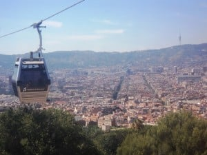 10 best Barcelona attractions - Cable car to Montjuic