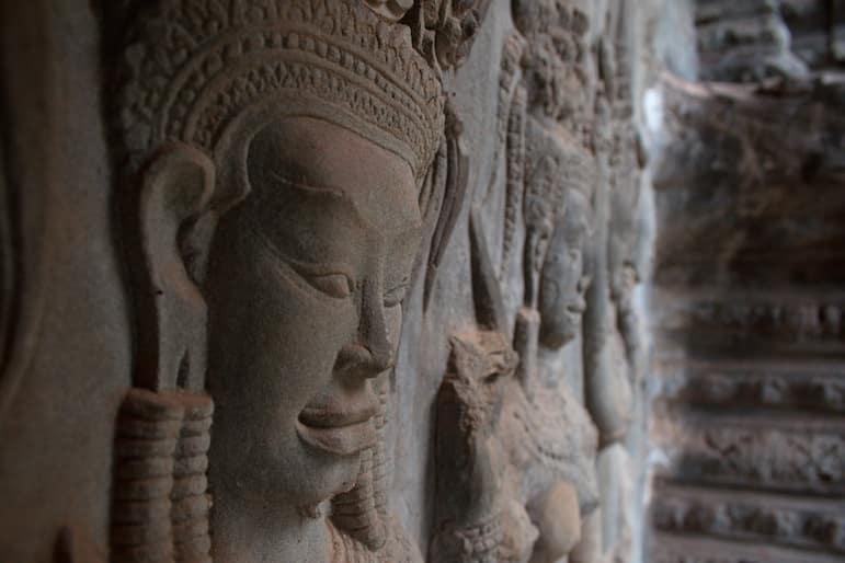 Detail of Angkor Wat | pic: Christian Haugen