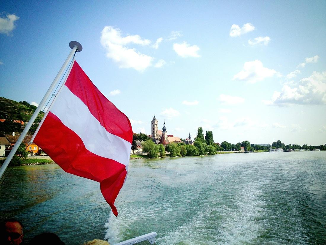 Sailing down the Danube aboard the MS Austria