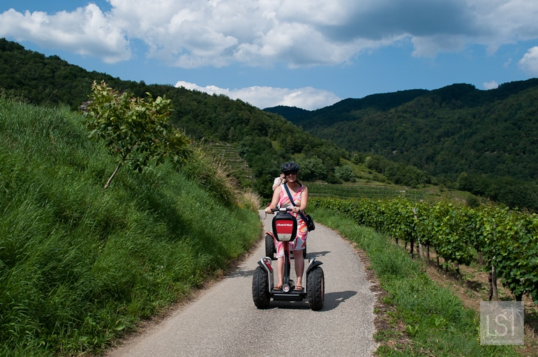 Segwaying through the Danube's vineyards