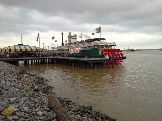 The Steamboat Natchez, New Orleans