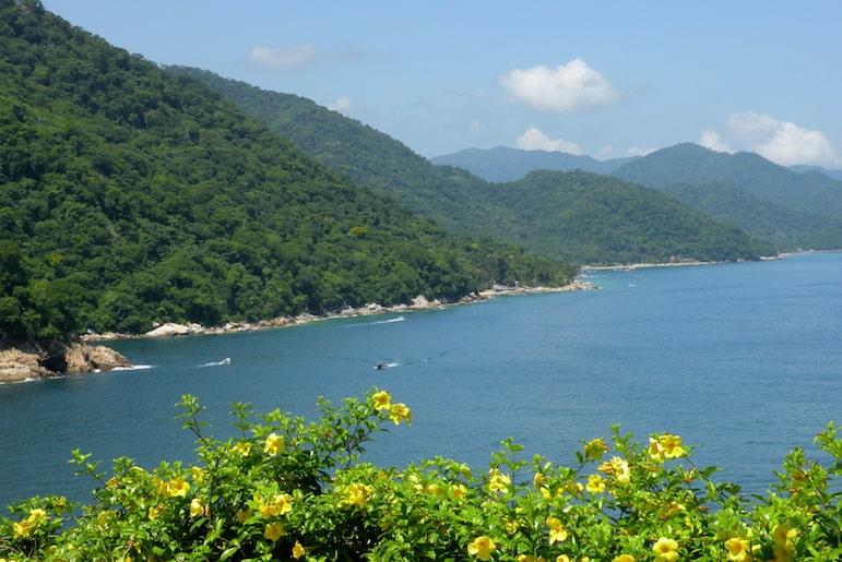 How to travel to Puerto Vallarta - Pacific Coast South of Puerto Vallarta