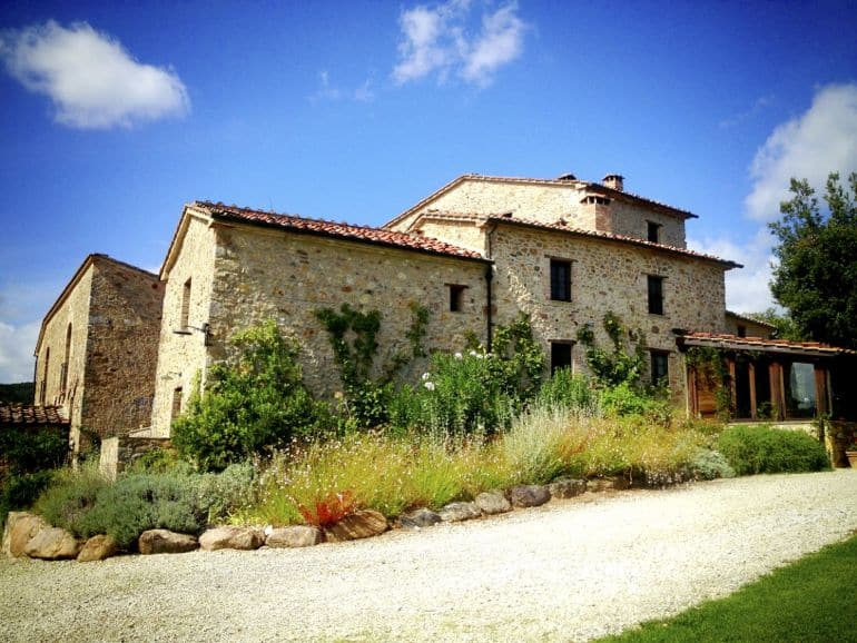 Cooking classes in Italy held at Villa Ferraia