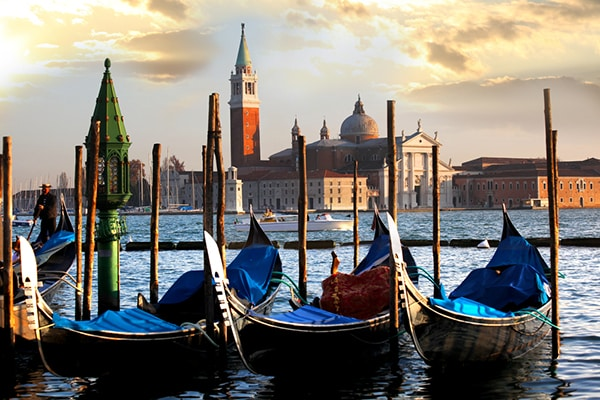 RCI Points members can book trips to cities such as Venice
