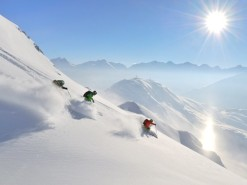 Winter in Austria at the press of a (big red) button