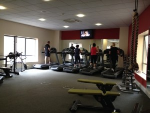 Gym at the Hotel Montenotte, Cork