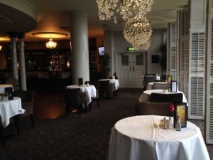 Montenotte Hotel, dining room