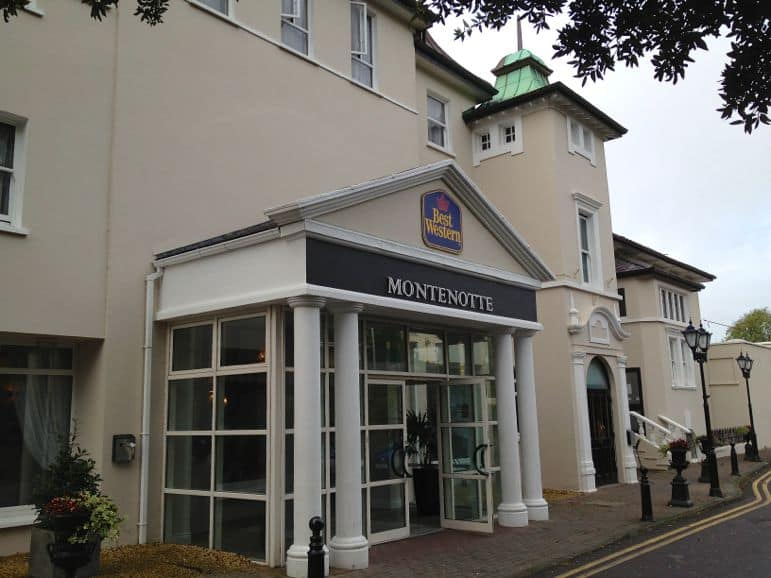 Montenotte Hotel in the city of Cork